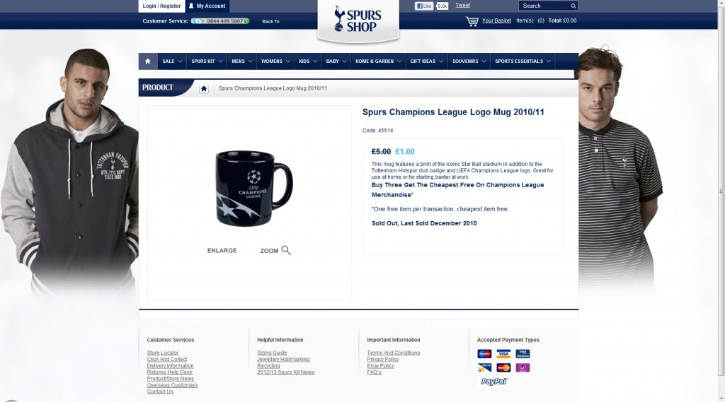 spurs ECL mug