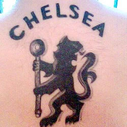 ChelseaFC Tattoo lion