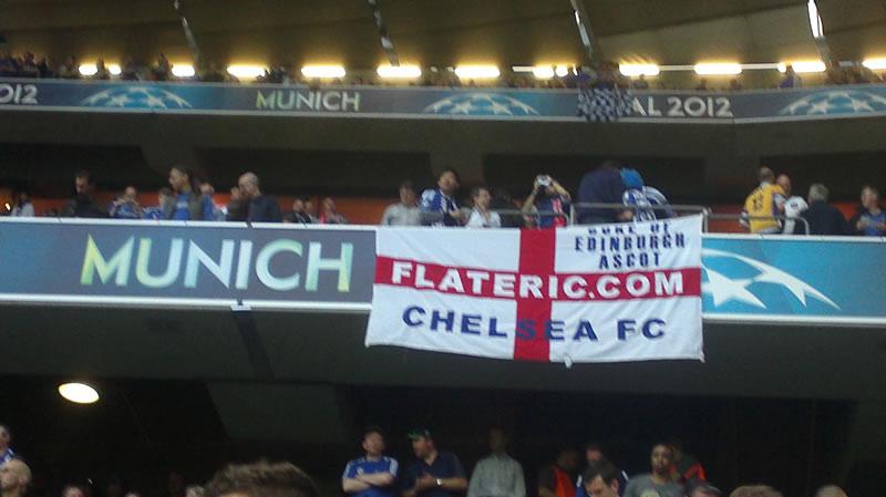 Chelsea Bayern Munich Flat Eric flag